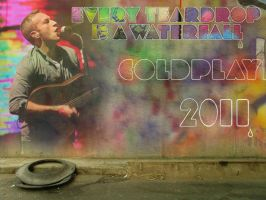 Coldplay Wallpainting 2011 by SliderGirl