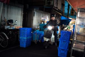 Tsukiji by burningmonk