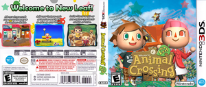Animal Crossing New Leaf Custom Cover by StarfireEspo