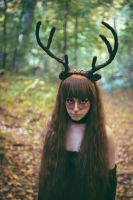 Deer Girl from the Woods 2 by albertsphotos