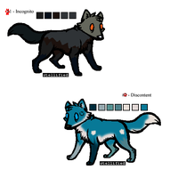 100-3 Theme Adopts - Wolves - Adopted by Feralx1