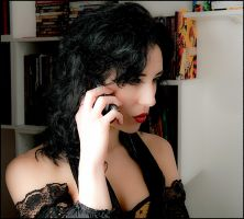 Allo yes ... Morgane ... by phil--astori