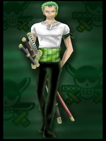Zoro by Daft-punk-girl2