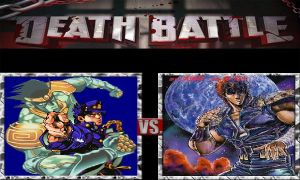 Death Battle: Jotaro Vs. Kenshiro by RedRoseSamurai
