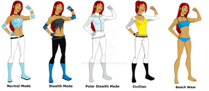 Young Justice: Invasion OC Silver by rclewley2