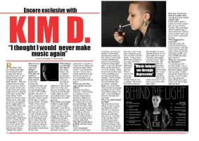 double page spread 2 - music magazine by AlaasDesigns