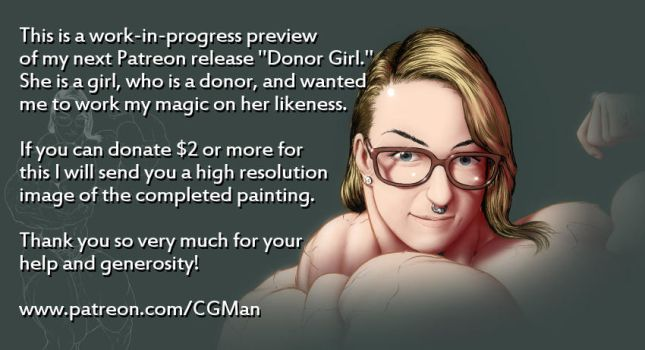 Patreon - Donor Girl Preview (More Content Update) by CGMan