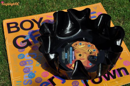 Boy George Record Bowl by KayleighOC