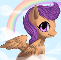 MLP: Head In The Clouds by SharkTuna