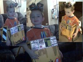 Owen's Wall-E Costume by mica87