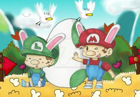 Happy Easter 2015! by Sagojyousartpage