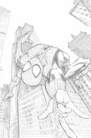 Spider-Man pencil by cehnot