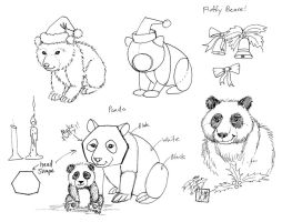 Draw a Fluffy Bear by Diana-Huang