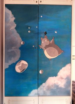 Spirited Away cabinet by PakstraX