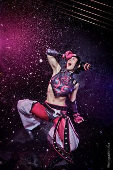 Street Fighter - Juri by adelhaid