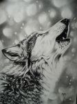 Howling Wolf by Tresan