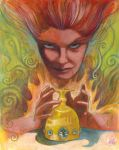 Queen of Cups, reversed by zyphryus