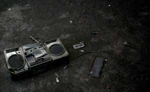 Death of a boombox 2 by xafax