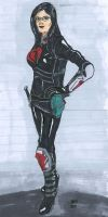 My Baroness Drawing by Darth-Deviant