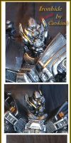 Leader Ironhide portrait by Catskind