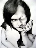Bert McCracken. WIP: 4. by IWalkWithShadows