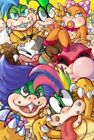 Koopalings Trick and Treat! by Arashi-H