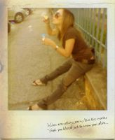 Bubbles...  polaroid by Lollipop85
