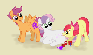 Cutie Mark Crusaders by bibliodragon