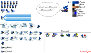 Hark The Hedgehog SpriteSheet by ask-Vexonthepuffball