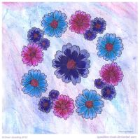 Simply Be Mandala by Quaddles-Roost