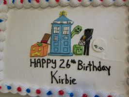 minecraft dr who birthday cake by chappy-rukia