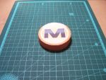Megaupload Logo Papercraft by StormL