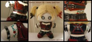 Batman: Arkham City - Harley Quinn Plush by StitchedAlchemy