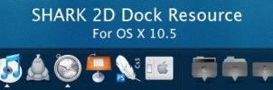 Shark 2D Dock by neodesktop