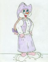 High Toon Babs Bunny by Jose-Ramiro