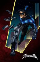 Nightwing Color by valiantonov