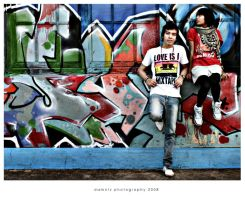 graffiti and fashion by damntz