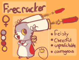 Firecracker ref by Cushies