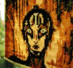 Bead loomed 'Metropolis' panel 3 by CatsWire