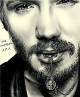 Chad Michael Murray 2 by crayon2papier