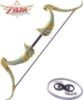 Skyward Sword - Sacred Bow Render by shad0w8