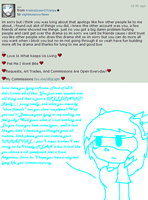 !~..just somethin I have to say to the queen..~! by xlightbluesnowflakex