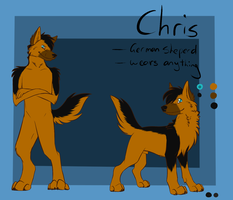 Fursona Reference by ChrisGShep