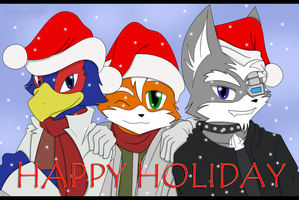 HAPPY HOLIDAYS by BlackWingedHeart87