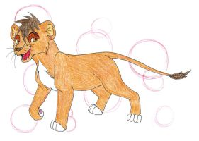 My Chara Dubhe as Lion by WaterdragonWave