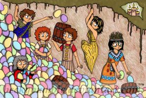 The Easter Egg Harvest by BeckyBumble