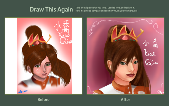 Draw this Again Contest Submission by JainnyWeasley