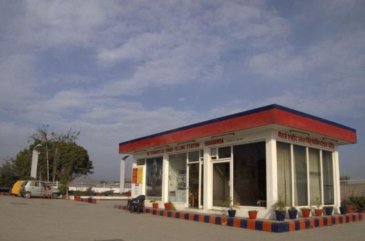 Petrol Station by spacejunior