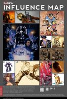 Influence Map by zazB