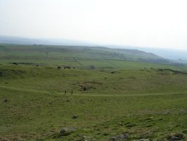 Hadrian's wall 13 by Noodle-stock